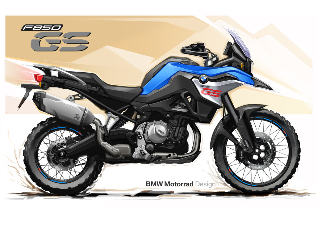 New Honda Motorcycles 2018 >> BMW F 750 GS & F 850 GS (2018) - Pictures › Motorcycles.News - Motorcycle-Magazine