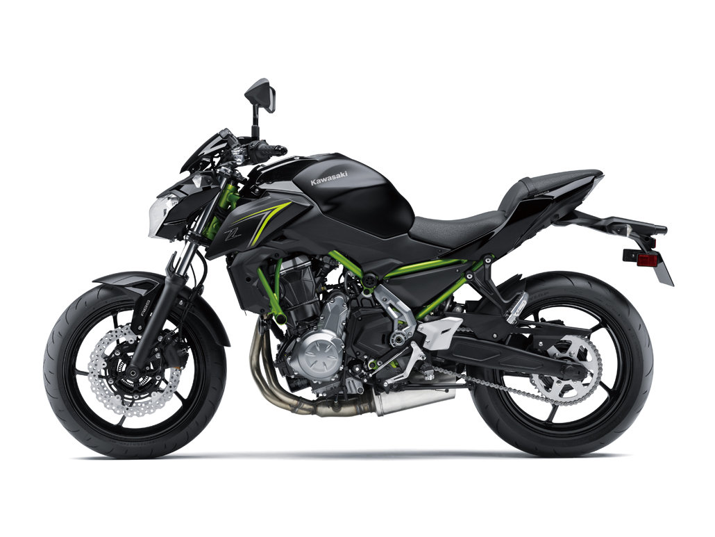 Pictures From The Kawasaki Z650 2018