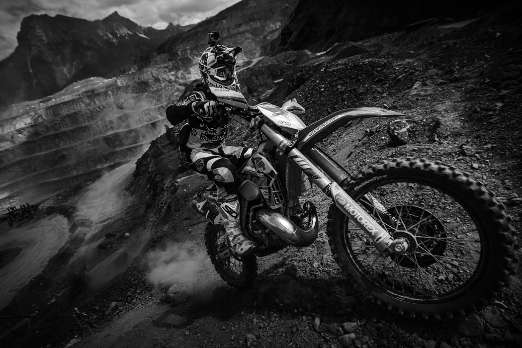 Jonny Walker performs at the Red Bull Hare Scramble 2015 in Eisenerz, Austria on June 7th, 2015.