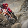 Lars Enoeckl performs during the prolog of the Red Bull Hare Scramble 2016 in Eisenerz, Austria on May 27, 2015.