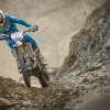 Competitor performs during the prolog of the Red Bull Hare Scramble 2016 in Eisenerz, Austria on May 27, 2015.