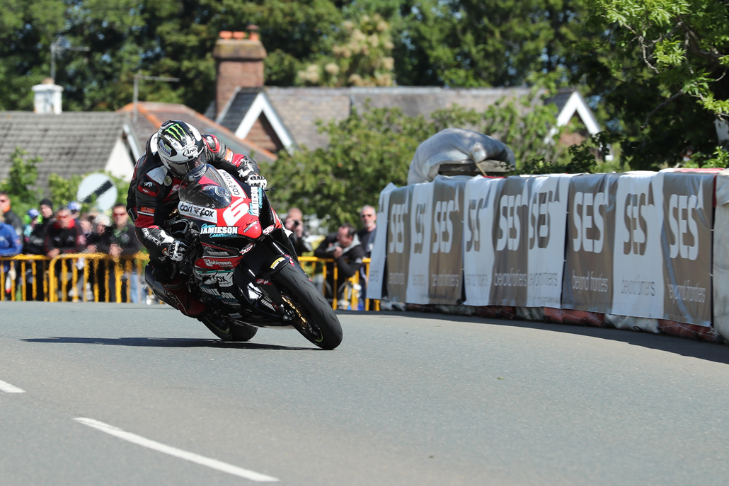 07/06/2017: Michael Dunlop (MD Racing) at Sulby during the RL360 Quantum Superstock TT Race. PICTURE BY DAVE KNEEN/PACEMAKER PRESS