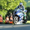 30/05/2017: Ian Hutchinson (BMW/Tyco BMW) at Ballaugh Bridge during the opening night's practice for the Isle of Man TT. PICTURE BY DAVE KNEEN/PACEMAKER PRESS.