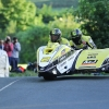 30/05/2017: Dave Molyneux/Daniel Sayle (Yamaha/DMR/A&J RACING) at Ballaugh Bridge during the opening night's practice for the Isle of Man TT. PICTURE BY DAVE KNEEN/PACEMAKER PRESS.