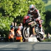 30/05/2017: Michael Rutter (BMW/Bathams SMT Racing) at Ballaugh Bridge during the opening night's practice for the Isle of Man TT. PICTURE BY DAVE KNEEN/PACEMAKER PRESS.