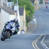 31/05/2017: Ian Hutchinson (BMW/Tyco BMW) through the village of Kirk Michael during qualifying for the Isle of Man TT. PICTURE BY DAVE KNEEN/PACEMAKER PRESS.