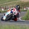 02/06/2017: Bruce Anstey (Honda/Padgettsmotorcycles.com) approaching the Mountain Mile during during qualifying for the Monster Energy Isle of Man TT. PICTURE BY DAVE KNEEN/PACEMAKER PRESS