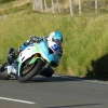 02/06/2017: Dean Harrison (Kawasaki/Silicone Engineering) approaching the Mountain Mile during during qualifying for the Monster Energy Isle of Man TT. PICTURE BY DAVE KNEEN/PACEMAKER PRESS