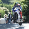 04/06/2017: Peter Hickman (BMW/Smiths Racing) at Ballaugh Bridge during the Isle of Man RST Superbike TT race. PICTURE BY DAVE KNEEN/PACEMAKER PRESS