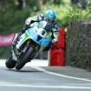 09/06/2017: Dean Harrison (Kawasaki/Silicone Engineering at Union Mills during the Pokerstars Senior TT race. PICTURE BY DAVE KNEEN/PACEMAKER PRESS