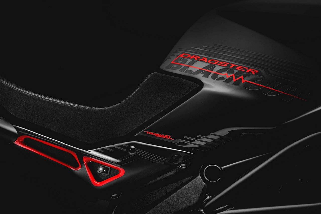 MV Agusta presents Dragster Blackout. Motorcycle Art