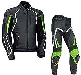 Maßgefertigter Motorrad-Anzug aus Leder von Kawasaki, CE-geprüft