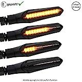 LED Blinker kompatibel mit KTM Duke 125, 200, 690 / KTM 620 E Duke (E-Geprüft / 2Stück) (B1)