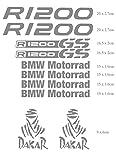 BMW r 1200 gs Aufkleber Motorrad, Motorrad Dakar, Abenteuer, Tuning, Grau