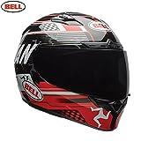 Bell Helmet Qualifier DLX Isle Of Man Black/Red, Größe L