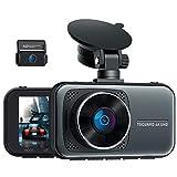 Toguard UHD 4K Dual Dashcam Vorne und Hinten, Autokamera mit 310° Weitwinkel, Unterstützt 256GB, Superkondensator, 24 Std. Parküberwachung Auto Camera, 3 Zoll IPS Videorecorder mit Loopfunktion, WDR