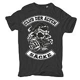Männer und Herren T-Shirt Club der Alten Säcke Größe S - 5XL