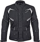 Germot Avenue Motorrad Textiljacke Schwarz 6XL