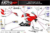 motoxpricambi Aufkleber fur Motorrad Grafiken Ducati Panigale V4 MT18 Racing