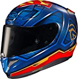 HJC RPHA 11 Superman DC Comics MC21 rot blau Motorradhelm Integralhelm Racing, L