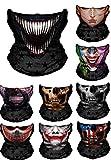 WYShop 3D Halloween Maske Festival Motorrad Gesichtsschutz Outdoor Sonnenmaske Sturmhaube Partei Masken Festliche Lieferungen Maskerade Maske (Stil 7)