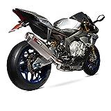 SSTCK1000 - Scorpion Serket Super Stock De-Cat Titanium Oval Exhaust - Yamaha YZF R1 & R1M 2015 - Current