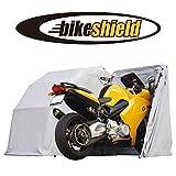 The Bike Shield - Motorrad-Garage - schützende Zelt-Abdeckplane (Größe S)