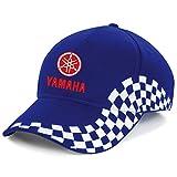 YAMAHA Biker Motorrad Race, Bestickte Grand Baseball Cap Mütze -1051Blau