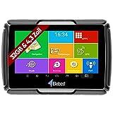 Elebest Navigationsgerät Rider A43+ Pro, Navigation für Motorrad und PKW, 4.3 Zoll Bildschirm Android 6.0 - Bluetooth W-LAN Wasserdicht 32 GB Speicher Fahrspurassistent Radarwarner