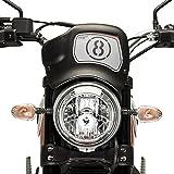 Frontplatte Puig 9177J für Ducati Scrambler Icon 15'-18'
