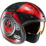 Hjc Star Wars Motorrad-Jethelm Fg-70 Dameron Rot (Large , Rot)