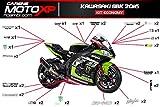 Aufkleber fur Motorrad grafiken Kawasaki Zx10-R 2016 SBK 2016 Racing Economy