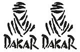 Dakar Aufkleber für Auto, Ducati Monster Design, 25cm