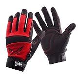 RACEFOXX Mechaniker Handschuhe, Arbeitshandschuhe, Werkstatthandschuhe, Handschuh, Werkstatt, mittel groß