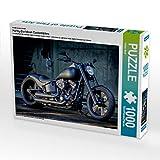 CALVENDO Puzzle Harley-Davidson Custombikes 1000 Teile Lege-Größe 64 x 48 cm Foto-Puzzle Bild von Volker Wolf