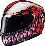 HJC Helmets Motorradhelm RPHA11 Marvel Carnage, L, noir rouge, 13217509-L