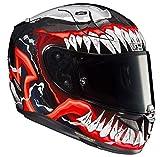 HJC Helmets RPHA 11, Motorradhelm, Venom Marvel II, MC1, L