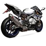 SSTCK1001 - Scorpion Serket Super Stock Titanium Oval Exhaust - Yamaha YZF R1 & R1M 2015 - Current