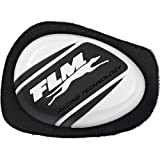 FLM Knieschleifer-Motorrrad-Protektor Sports Knieschleifer 2.0 weiß, Unisex, Sportler, Ganzjährig, Kunststoff, Einheitsgröße