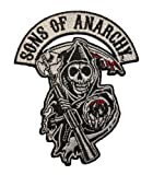 SONS of ANARCHY Logo Aufnäher Patch