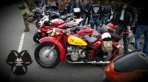 """1.Mai Motorradtreffen in Nürnberg - Russisches Gespann """"Ural"""""""
