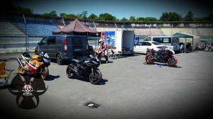 Rennmotorräder in Hockenheim