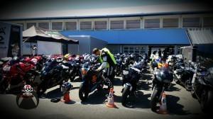 Teilnehmerbikes beim Getting Started - Speer Racing