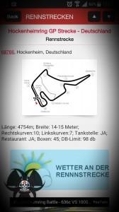 Rennstreckenvorstellung - Hobby Racer App - Renn Grib