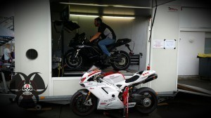 Leistungsprüfstand Motorrad-Festival PS-Tuner-GrandPrix 2014 Hockenheim
