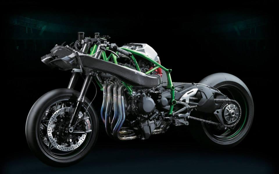 Ninja H2R Kawasaki H2 1