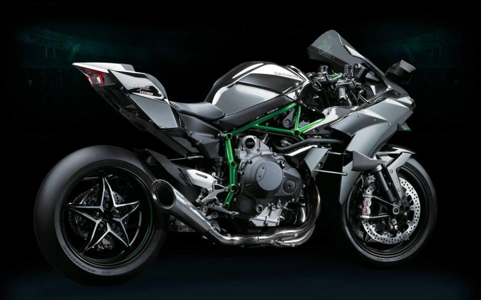 Ninja H2R Kawasaki H2 10