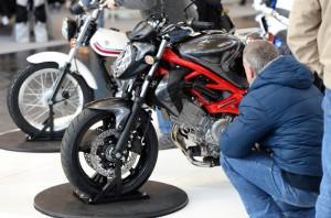 Motorrad-Messe Friedrichshafen Motorradwelt Bodensee 2014