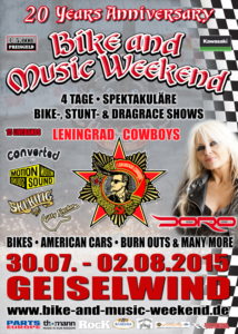 Bike&Music Weekend 2015