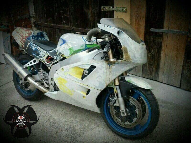 Rennmotorrad Kawasaki ZXR 400